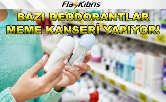 Bilim insanları bazı deodorantların meme kanserine neden olduğunu buldu